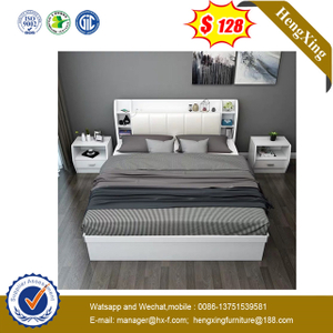 Chinese Modern Bedroom Set Furniture Sofa Bed Mattress night stand storage cabinets King Double Wall Beds