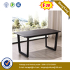 Modern Luxury Furniture Stainless Steel Wood Dining Table