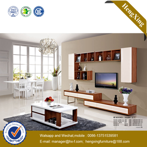 Cheap Price Home TV Stand MFC Storage Cabinet Furniture Wooden TV Table