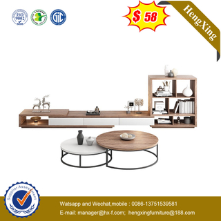 Factory Furniture Simple Style Wooden Luxury Nordic Showcase Home Living Room TV Stand
