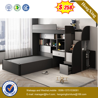 Latest Design Modern Multi-functional Storage Durable Bedroom Furniture Kids Bunk Bed