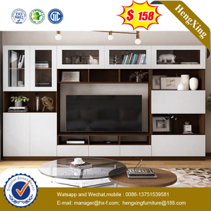 Modern Home Furniture Wooden Living Room Furniture TV Stand Coffee Table wall TV cabinets