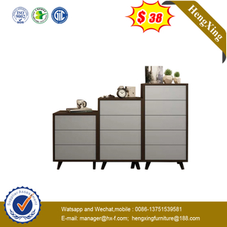 General Use Wood File Storage 3/4/5 Drawers Cabinets Office Wooden Filing Cabinet