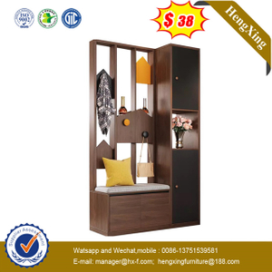 New Design 2 Door Modern Wooden White mirror closet bedroom set Wardrobe