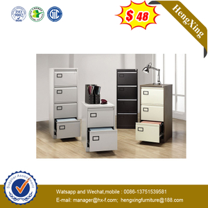 Office Furniture 2/3/4 Drawer Storage Cabinets Vertical Filing Cabinet