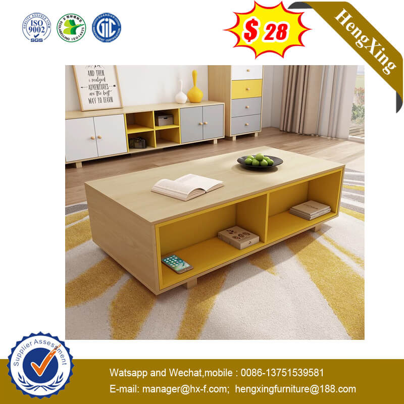 Competitive Office Living Room Furniture Glass Table Top Coffee Table