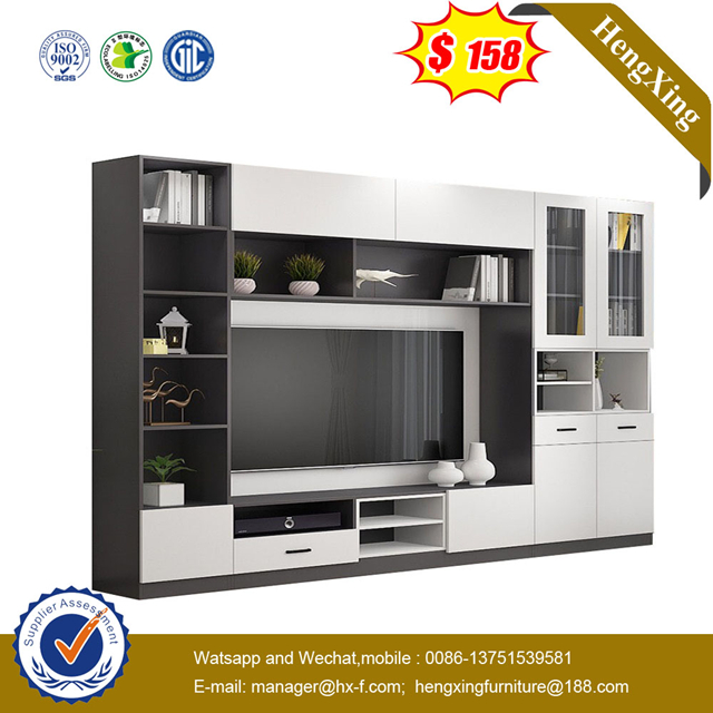 Modern Home Furniture Wooden Living Room Furniture TV Stand Coffee Table wall TV cabinets bookcase