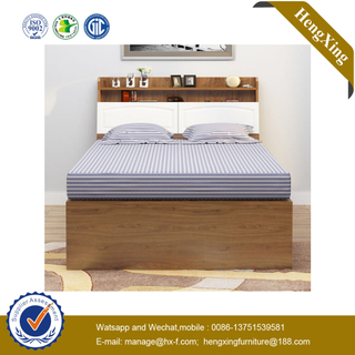 Fashion Folding Wooden Home Living Room Queen Size Bedroom Bed