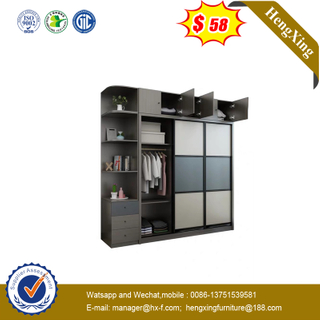 Factory Customized Storage Wardrobe Furniture Bedroom Set Clothing Wooden Wardrobes