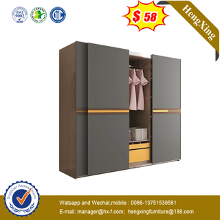 Nordic Bedroom Sliding Door Large Wardrobe Modern Minimalist Combination Overall Wardrobe