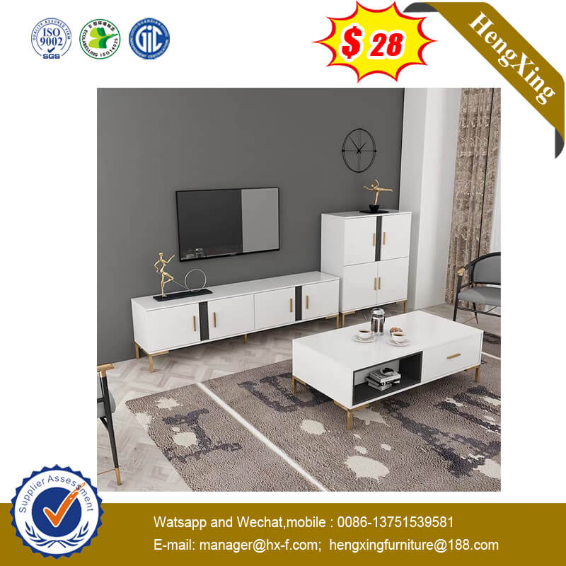 European Country Solid Wood Vintage Living Room Hotel Furniture TV Stand
