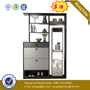 Popular Modular Modern MDF Wooden Glossy Lacquer Kitchen Furniture Living Room Cabinet