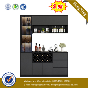 Modern New Wood Design Furniture Bookshelf Executive Storage Office Filing Living Room Cabinet