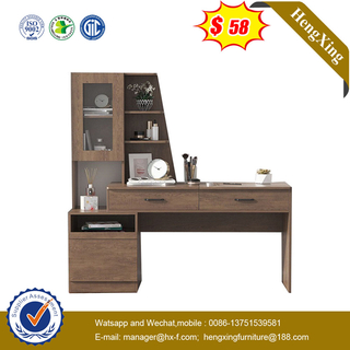 Wooden Bedroom Furniture Set Study Computer Desk Vanity Dressing Makeup Mirror Table