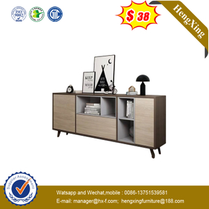 New Design TV Stands Modern Furniture Long Wooden TV Cabinet for Living Room