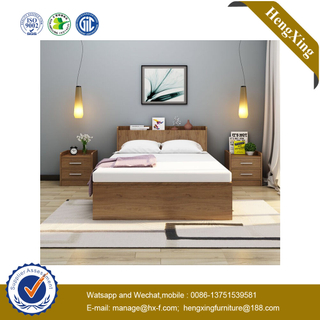 Modern Living Room Furniture Set Hotel Furniture Big Size Wooden Bed