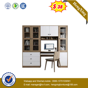 Chinese Living Room Furnitutre Simple Wooden Hall Showcase Cabinet office desk study table
