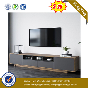 modern Luxury Wholesale Wooden Living Room Furniture MDF Top side end table cabinets Coffee Table with TV Stand