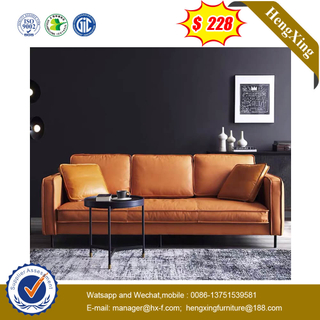 Chinese Modern Living Room Leather Recliner Office Furniture Leisure Sofa