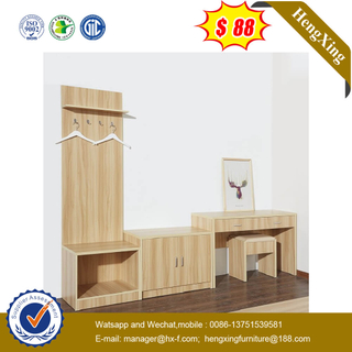 Chinese Economic Hotel Bedroom Furniture Computer Table For 3 Star Hotel