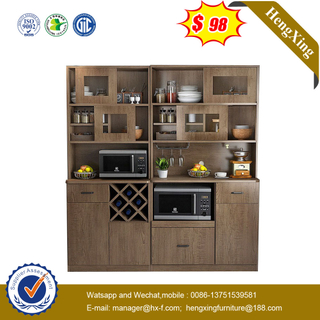 Hot Selling Modern Home Wooden Melamine Living Room Dining Furniture Sideboard Cupboard Buffet Kitchen Cabinet