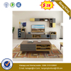modern Style Luxury Wholesale Wooden Living Room Furniture MDF Top Coffee Table with TV Stand