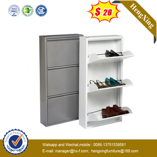 Modern Design Home Furniture 3 Layers Wood Shoe Rack Storage Cabinet