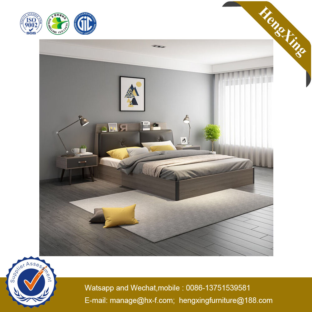 Modern Solid Wooden Home Bedroom Furniture Set Wardrobe Mattress Storage Double Single King Size Sofa Wall Bed