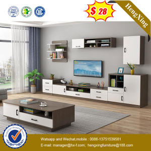 Modern Home Furniture Wooden Living Room Furniture side cabinets TV Stand Coffee Table