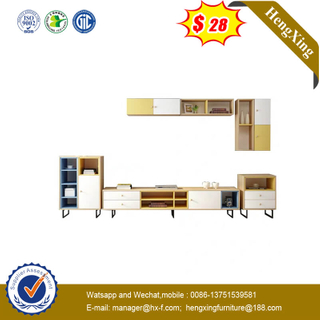 Easy-Assembly Livingroom TV Table Cabinet MFC Wooden Dining Furniture