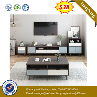 Modern Bedroom TV Cabinet Coffee Table Combination Set