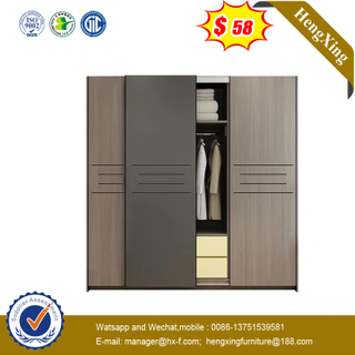 Modern Large Capacity Wardrobe Bedroom Furniture Wooden Wardrobes Storage Wardrobe